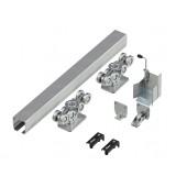 Система роликов и направляющих для балки 138Х144Х6 L=12000 мм